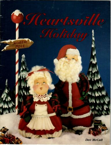 Christmas Decorative Painting Pattern Book HEARTSVILLE HOLIDAY by Dee McCall