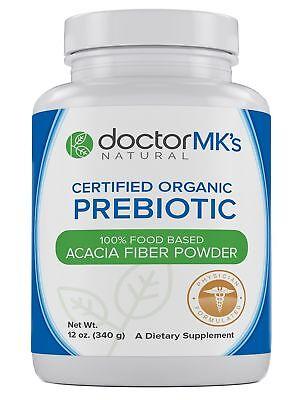 Organic Prebiotic Powder by Doctor MK's® - Unflavored, Preb