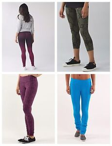 Various Lululemon Pants and Crops size 4-6
