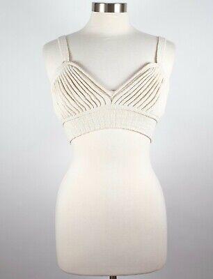 New XS Y Project knit crop bra top $858 sweater
