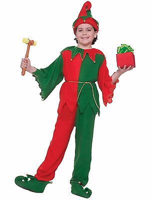 Santa's Helper Elf Christmas Child Costume](Children Christmas Costumes)