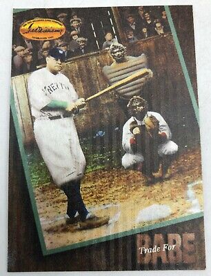 Trade for Babe Ruth Redemption Expired Baseball Card Yankees 1994 Ted Williams