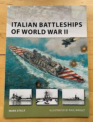 Osprey Publishing New Vanguard Series 182 - Italian Battleships of World War 2
