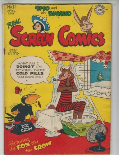 Real Screen Comics #11, DC 1947 VG