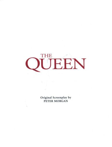 Michael Sheen Signed Autographed THE QUEEN Full Movie Script COA AB