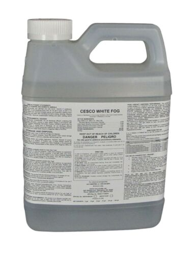 Cesco White Fog Disinfectant Concentrate - Kills Viruses - Makes 53 Gallons!