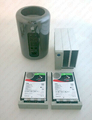 € 2479+IVA APPLE MAC Pro MD878 3.5GHz 6C A1481+LaCie 2Big Thunderbolt RAID 16TB Lacie Pc Desktops