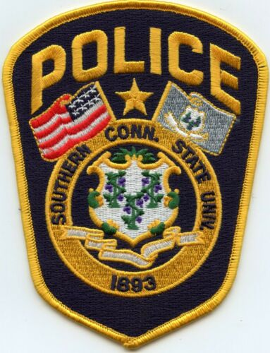 SOUTHERN CONNECTICUT CT STATE UNIVERSITY POLICE PATCH