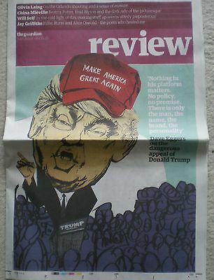 Donald Trump – the Guardian Review – 18 June 2016