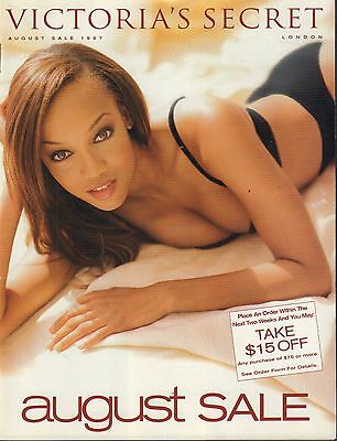 Victorias Secret August 1997 August Sale Tyra Banks 030917Nondbe