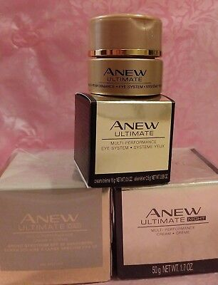 (AVON ANEW ULTIMATE MULTI-PERFORMANCE Day, Night & Eye CREAM (7s is Discontinued))