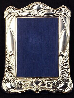 Solid Silver Photograph Frame