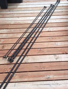 Rods and Curtain Panels