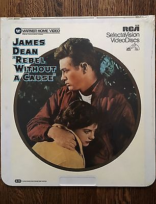 NEW Sealed CED Video SelectaVision JAMES DEAN Rebel without a cause 1955