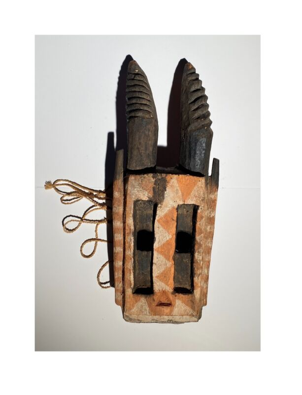 Authentic Tribal Ceremonial African Dogon Mask - Mali USED