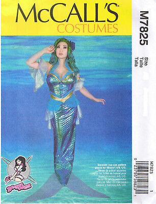 Meerjungfrau Rollenspiel Yaya Han Kostüm Neckholder Kleid Nähmuster 6 8 10 12 14