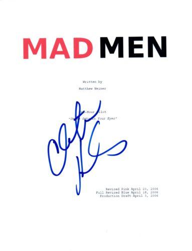 Christina Hendricks Signed Autographed MAD MEN Pilot Episode Script COA
