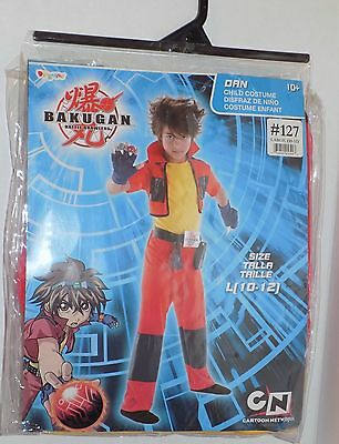 NEW Disguise Bakugan Dan Child Costume, Size Large 10/12