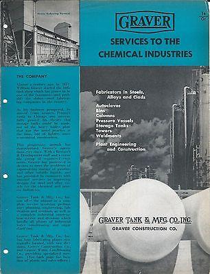 Equipment Brochure - Graver Tank Construction Chemical Industry - C1952 E3317