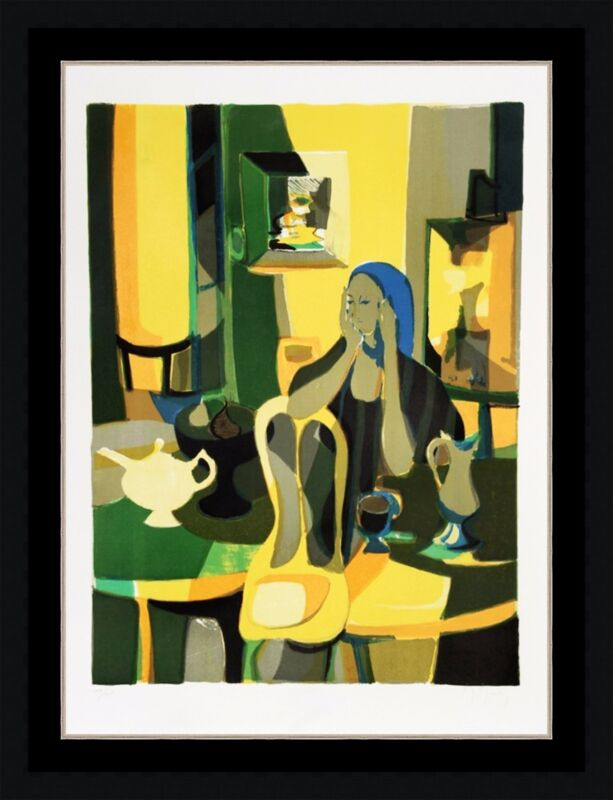 """Marcel Mouly """"at The Cafe"""" 1977 