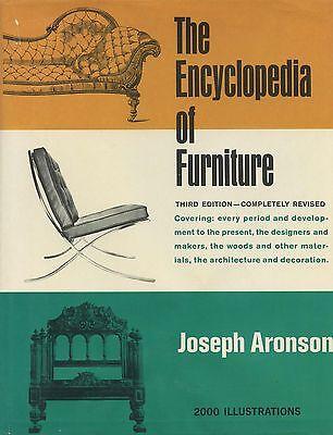 Antique Furniture Types - Origins Periods Designers Woods Etc. / Scarce Book