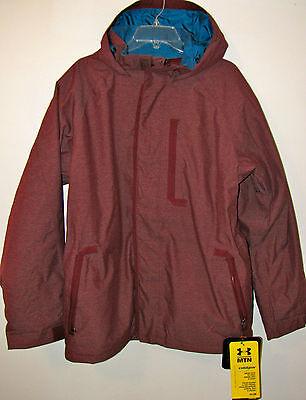 Under Armour $225 STORM Coldgear MTN Snowboarding Ski Yellow Jacket XL XXL
