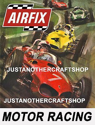 Aifix Motor Racing Slot Car 1966 Large Size Poster Advert Leaflet Shop...
