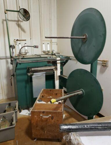 Mattress border machine double edge serger