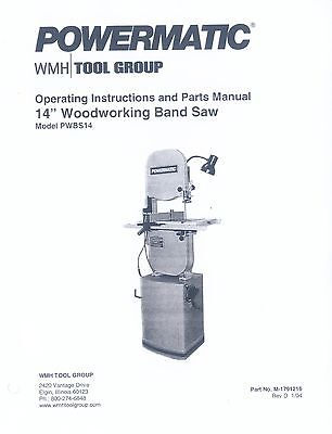 Powermatic 4 Band Saw Woodworking