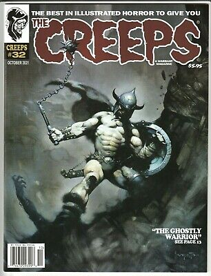 CREEPS MAGAZINE #32 OCT 2021 NM 9.4 UNREAD WARRANT PUBS FRAZETTA COVER IN STOCK