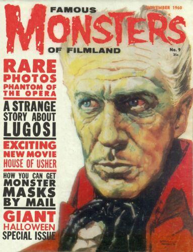Famous Monsters of Filmland #9 Photocopy REPLICA Magazine