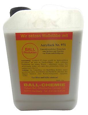 (18,-€/kg) Korblack Acryllack Wasserlack 3kg Tauchen Weide Peddigrohr Rattan