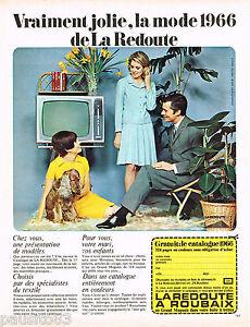 publicite advertising 075 1966 la redoute roubaix commande mode sur catalogue ebay. Black Bedroom Furniture Sets. Home Design Ideas