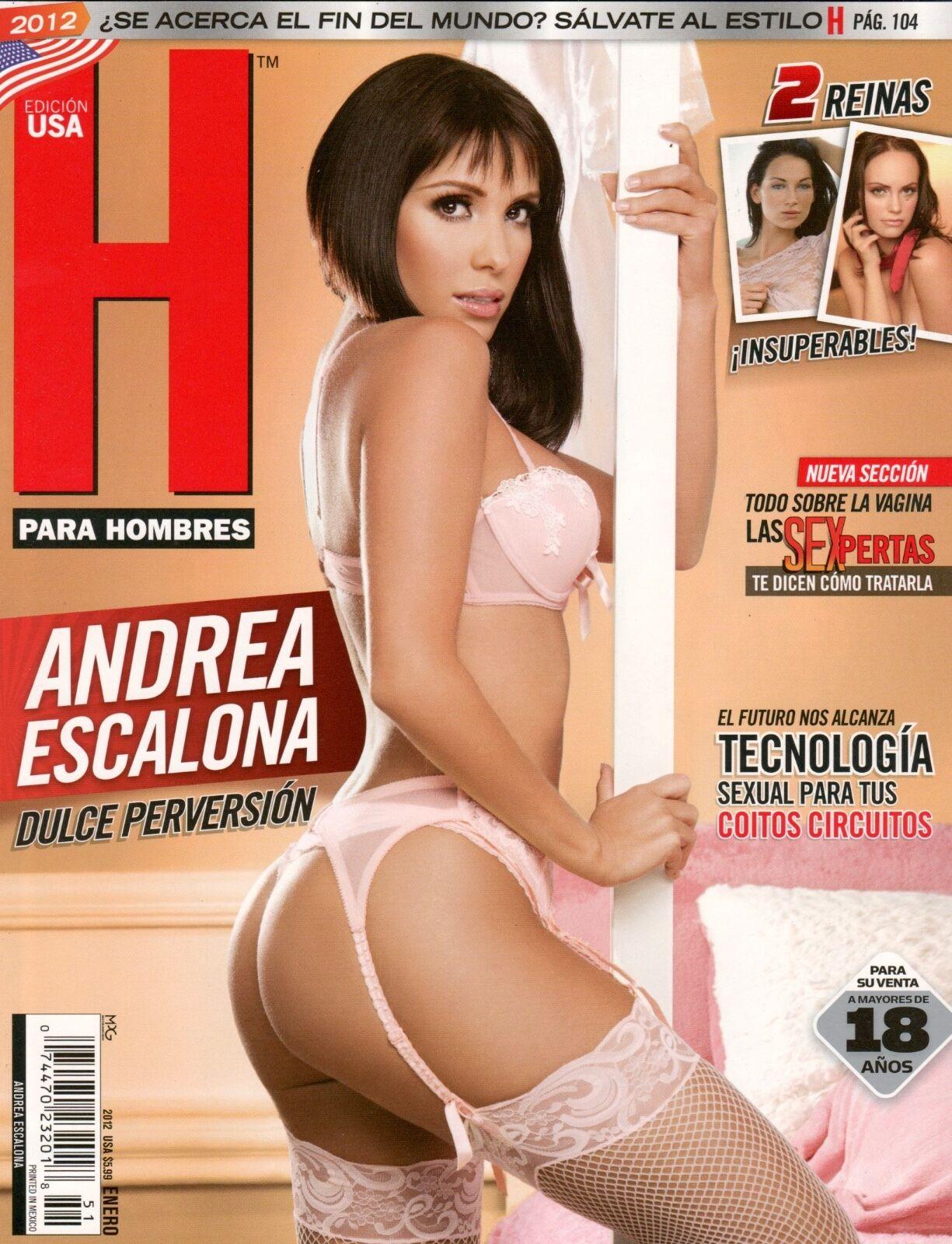 Ana Bekoa H Extremo h para hombres revista magazine andrea