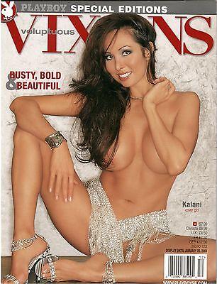 Playboys Voluptuous Vixens Cover Girl Kalani Busty Bold   Beautiful Jan 2004
