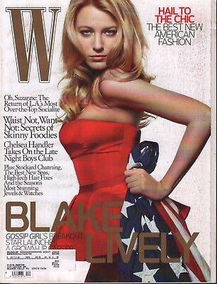 W Magazine December 2008 Blake Lively Chelsea Handler w/ML 061118DBE