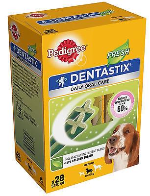 Pedigree Dentastix Fresh Dental Treat Medium / 28 Pack