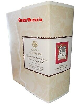 Anna Griffin Christmas Scenes Card Making Kit AG-805H - Makes 24 3D Cards ()