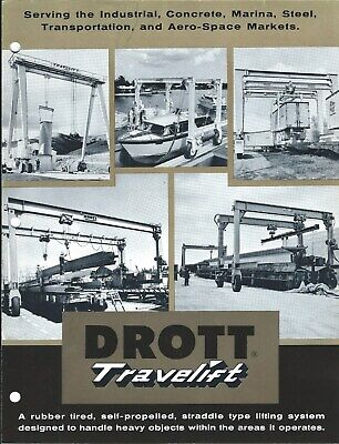 Equipment Brochure - Drott - Travelift - Boat Trailer Cargo Lift C1963 E5150