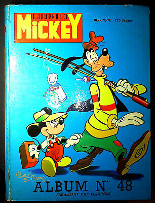 Le journal de Mickey - album 48 - 1970