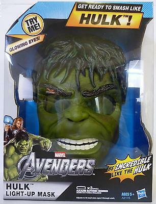 The Hulk Light-up Mask Marvel The Avengers Movie Roleplay With Strap 2012