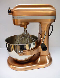 Kitchenaid professional 620 kp26m8xcp stand mixer satin copper open images frompo - Copper pearl kitchenaid mixer ...