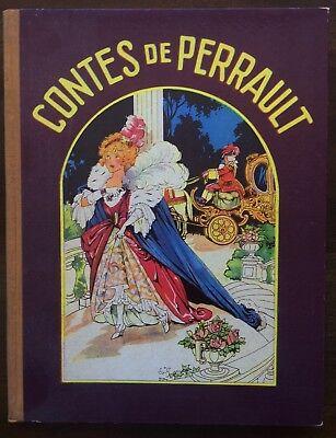 Grimm. - Contes de Perrault. Aschenputtel. Rotkäppchen. 1920. (Perrault, Rotkäppchen)