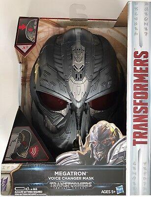 Transformers The Last Knight Megatron Voice Changer Mask - Megatron Mask