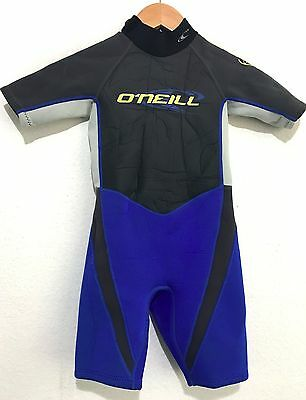 2f1168f406 O Neill Childs Spring Shorty Wetsuit Size 6 Hammer 2 1 Youth Kids