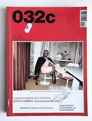 032c Magazine : Issue 21 : Scott Campbell : Excellent Condition