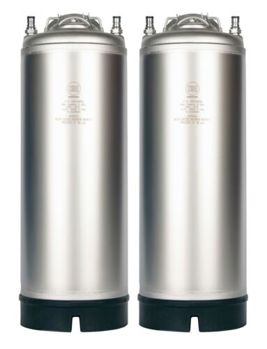 2 Pack - 5 Gallon Ball Lock Kegs New - Homebrew Beer & Cold Brew - Free Shipping