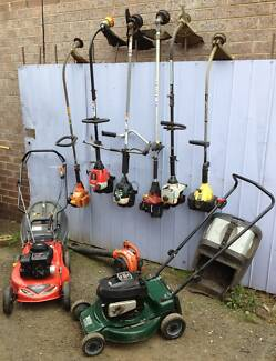 Used Mowers, Victa Masport Rover etc all serviced + warranty