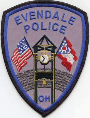 EVENDALE OHIO OH POLICE PATCH