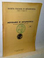 Notiziario Di Metapsichica -  - ebay.it